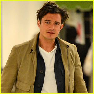 Orlando Bloom Arrives in Miami After Cross-Country Flight