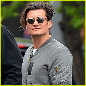 Orlando Bloom Makes it a Guys' Day Out in the West Village
