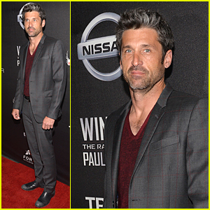 Patrick Dempsey Makes First Public Appearance as a Single Man