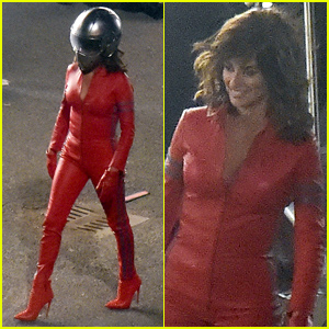 Penelope Cruz Rocks Sexy Red Jumpsuit for 'Zoolander 2'