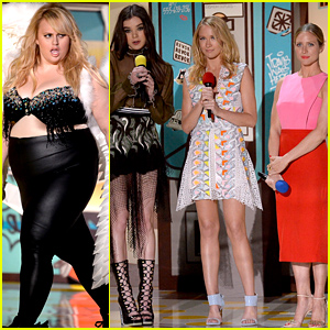 'Pitch Perfect 2' Cast Debuts New Clip at MTV Movie Awards 2015 - Watch Now!