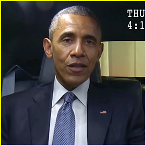 President Barack Obama Impersonates House of Cards' Frank Underwood - Watch Now!