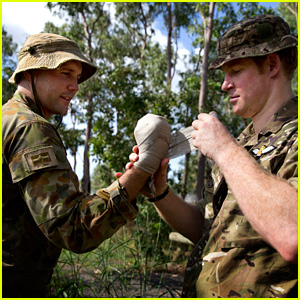 Prince Harry Continues Attachment with Australian Army
