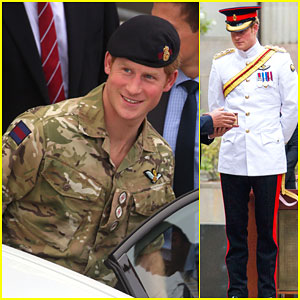Prince Harry Reports for Duty in Australia