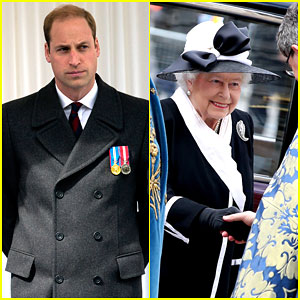 Prince William & Queen Elizabeth Commemorate ANZAC Day