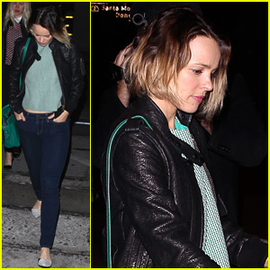Rachel McAdams Steps Out After Dinner With Jake Gyllenhaal