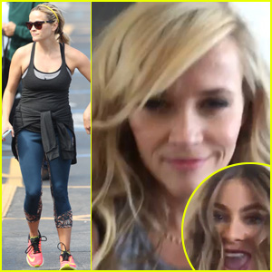 Reese Witherspoon & Sofia Vergara Hilariously Lip-Sync Miley Cyrus & Taylor Swift Classics - Watch Now!