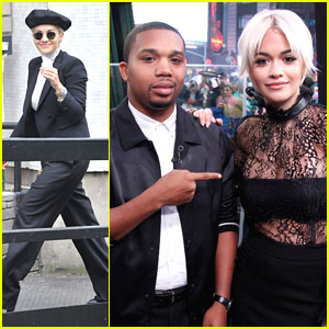 Rita Ora & Charles Hamilton Perform 'New York Raining' on 'GMA' (Video)