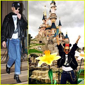 Rita Ora Wants to Live in Cinderella's Castle