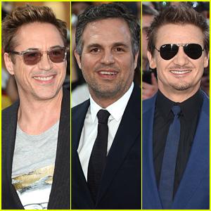 Robert Downey, Jr. & 'Avengers' Co-Stars Assemble at the European Premiere!