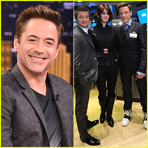 Robert Downey, Jr. Shows Tons of Emotions During 'Tonight Show' Interview - Watch Now!