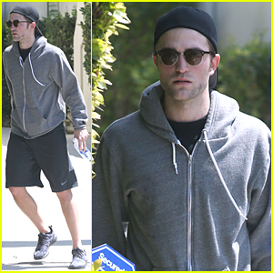 Robert Pattinson Steps Out After Engagement Rumors on April Fools' Day