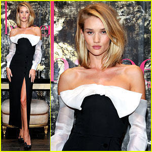 Rosie Huntington-Whiteley Celebrates Her Latest Cover Stories