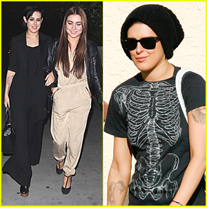 Rumer Willis & Jenna Johnson Dine Out At Chateau Marmont After DWTS Practice
