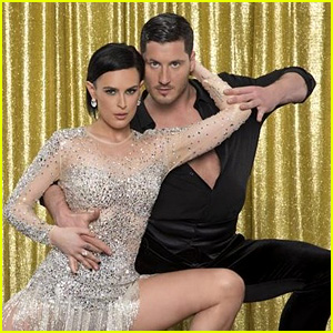 Rumer Willis & Val Chmerkovskiy Dance the Waltz Beautifully on 'DWTS' - Watch Now!