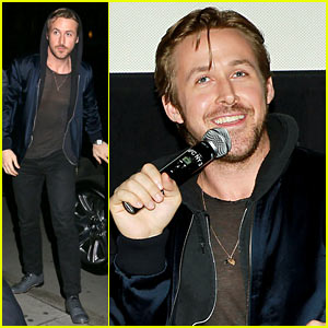 Ryan Gosling Says Eva Mendes Interned on 'Lost River' Set
