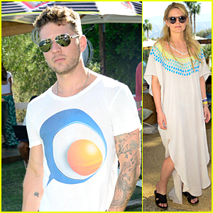 Ryan Phillippe & Jennifer Morrison Rock Sunglasses at Coachella's First Weekend