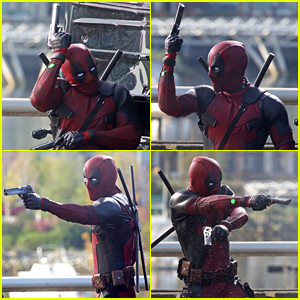 Check Out These 'Deadpool' On Set Action Scene Photos!