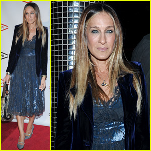 Sarah Jessica Parker Steps Out in Style at Ars Nova Benefit