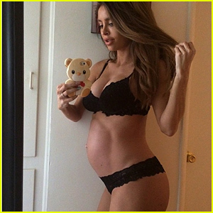 Super Fit Model Sarah Stage Gives Birth After Sparking Controversy During Pregnancy