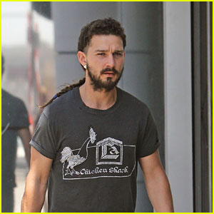 Shia LaBeouf's Rattail is Longer Than Ever