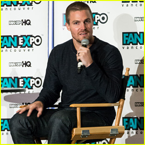 Arrow's Stephen Amell on Object of Oliver's Affection - Felicity!