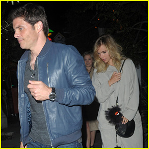 Suki Waterhouse & James Marsden Go on L.A. Dinner Date