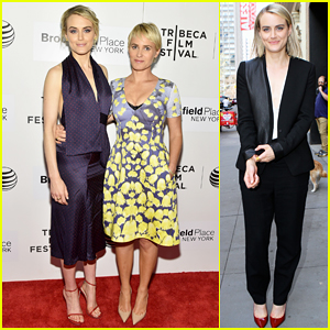 Taylor Schilling Brings Comedy to NYC with 'The Overnight' Premiere - Watch The Trailer Here!
