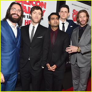 Thomas Middleditch & 'Silicon Valley' Guys Suit Up for Season Two Premiere!