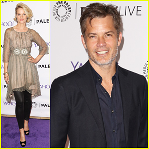 Timothy Olyphant Celebrates Series Finale of 'Justified' with Co-Stars at Paley Center!