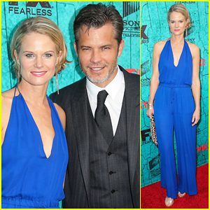 Timothy Olyphant & Joelle Carter Get Together with 'Justified' Cast One Last Time for Series Finale Party!