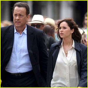 Tom Hanks & Felicity Jones Get to Work on 'Inferno' Movie!