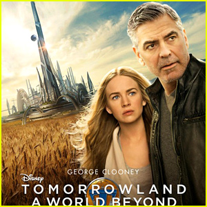 George Clooney & Britt Robertson's 'Tomorrowland' Posters Revealed!