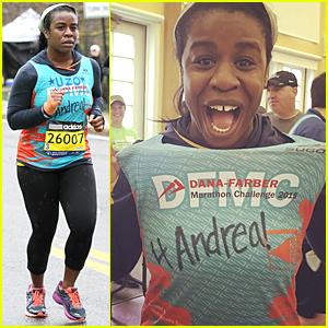 Uzo Aduba Runs Boston Marathon In Little Over 5 Hours