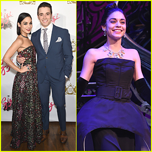 Vanessa Hudgens Catches Our Eye at 'Gigi' Opening Night After Party!
