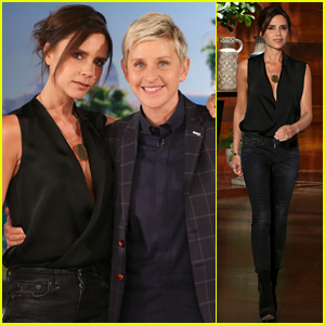 Victoria Beckham Gushes Over Her Four Kids on 'Ellen' (Video)