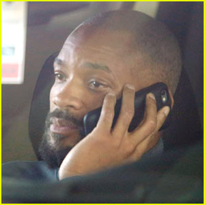 Will Smith Debuts Shaved Head for 'Suicide Squad' Role