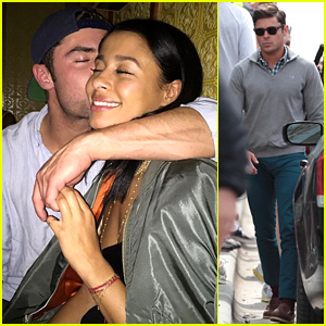 Zac Efron Was 'Really Affectionate' with Sami Miro During Karaoke Date