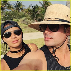 Zac Efron & Sami Miro Jet Off to Mexico Together