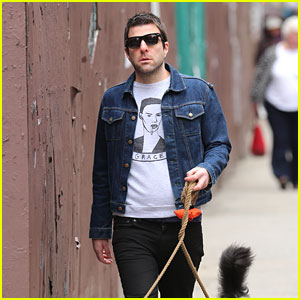 Zachary Quinto Takes a Break Before Filming 'Star Trek 3'