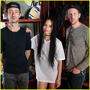 Zoe Kravitz & Lolawolf Host Sandro x Yoko Honda Brunch at Coachella