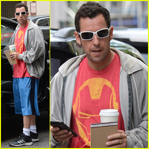 Adam Sandler Performs Musical Tribute In Honor of David Letterman on 'Late Show' - Watch Here!