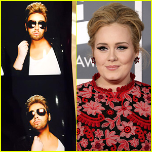 Adele Dresses in Drag as George Michael For Her 27th Birthday!