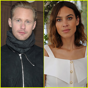 Alexander Skarsgard & Alexa Chung Are Reportedly Dating ...