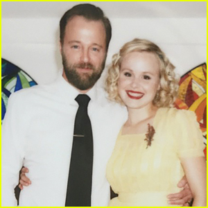 The Newsroom's Alison Pill Marries Joshua Leonard - See Wedding Photos!