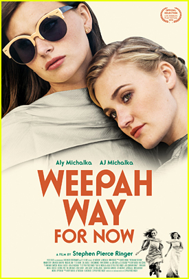 Aly & AJ Michalka Debut 'Weepah Way For Now' Poster With Just Jared! (Exclusive)
