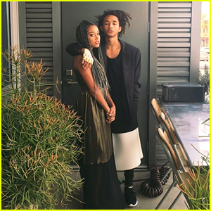 Jaden Smith Dons a Dress to Prom With 'The Hunger Games' Actress Amandla Stenberg