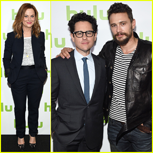 Amy Poehler & James Franco Announce New Shows at Hulu NewFronts 2015!