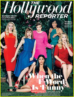 Lena Dunham, Amy Schumer, & Gina Rodriguez Represent Comedy Actresses On 'THR'!