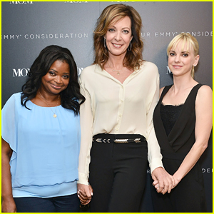 Anna Faris Gets Her 'Mom' On with Allison Janney & Octavia Spencer!